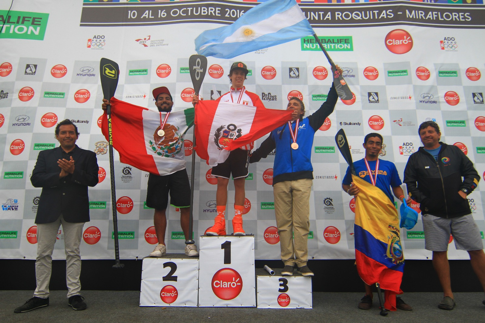 Campeones SUP Race Hombres.