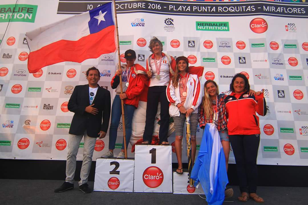 Campeonas Carrera Paddle Prone Damas