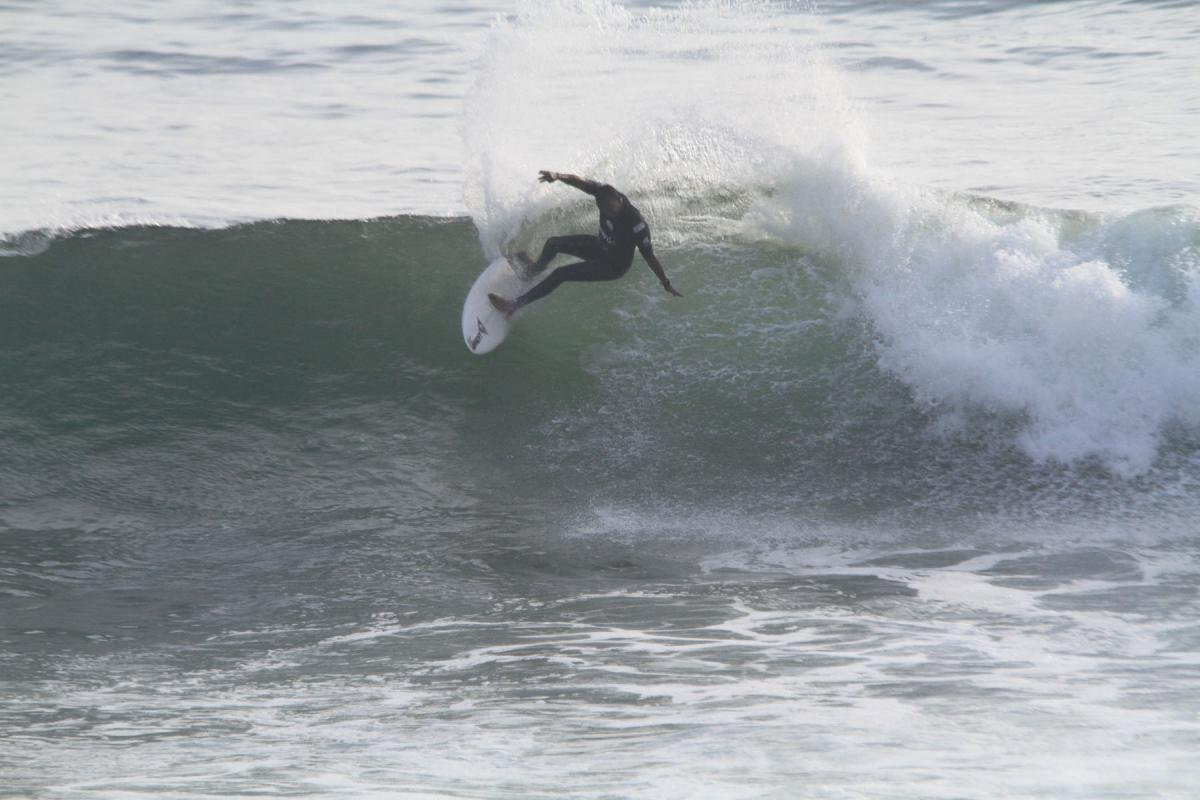Venezuela's Francisco Bellorin, 2018 PASA Pan American Men's Open Surf Champion, will be defending his national colors in Lima 2019. Photo: PASA/Ito Gómez